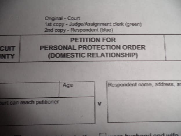 Petition for Personal Protection Order